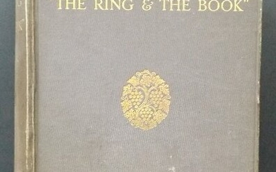 Treves, Country of The Ring and Book 1stEd.1913 illustr
