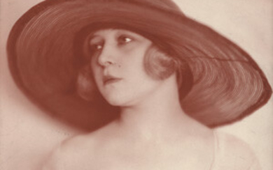 Unknown Photographer – Woman with fashionable hat