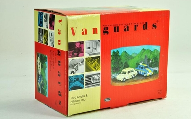 Vanguards 1/43 Limited Edition Ford Anglia and Hillman