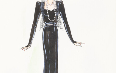 1930'S FASHION ILLUSTRATIONS WINTER COLLECTION.