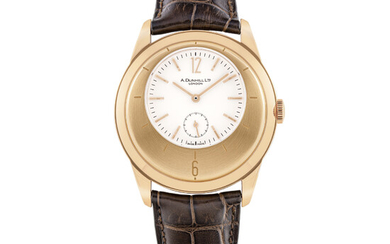 A. DUNHILL LTD, LIMITED EDITION GOLD WRISTWATCH, NO. 38/250
