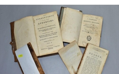 ANTIQUARIAN BOOKS, three titles comprising The Commentaries ...