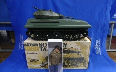 Action Man; A boxed 1970's Scorpion Tank, together with an A...