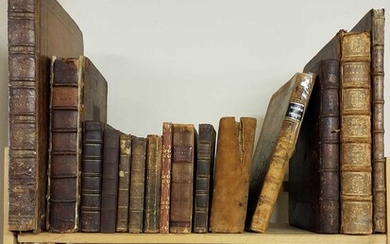 Antiquarian. A collection of 17th - 19th century reference & literature