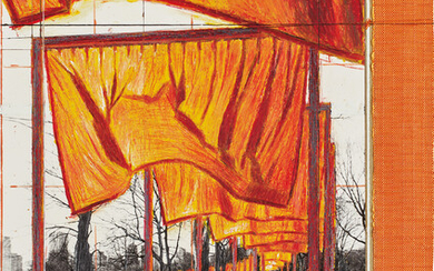 Christo, The Gates, Project for Central Park, New York City