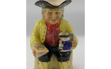 Kevin Francis Limited Edition Toby Jug Vic Schuler