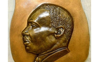 Martin Luther King Wall Sculpture Plaque
