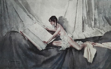 WILLIAM RUSSELL FLINT, Signed Lithograph