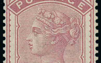 1880 - 81 'Provisional' Issue
