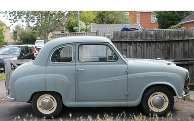1956 AUSTIN A30 SALOON Registration Number: 117 XVR Chassis...