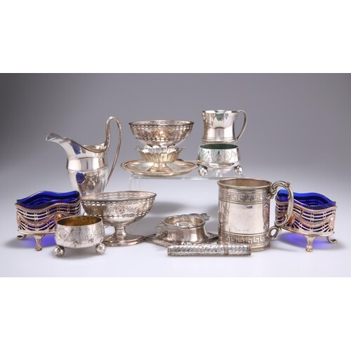 A COLLECTION OF PLATED WARES, including an Old Sheffield Pla...