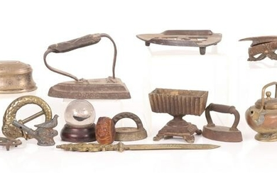 A Group of Small Antique Estate Items