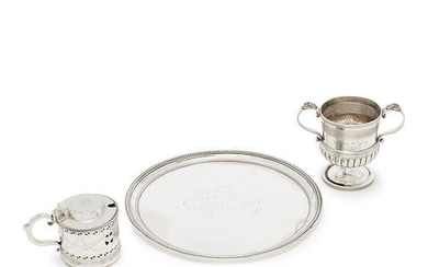 A collection of Georgian silver