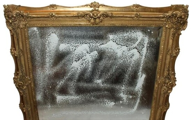 Antique French Picture Frame, Gold Leaf, Large made