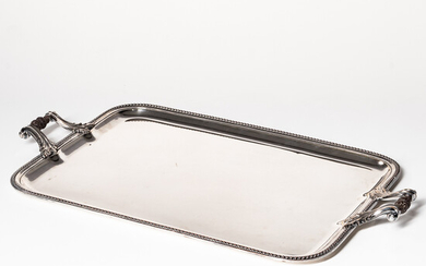 French Silverplate Tray