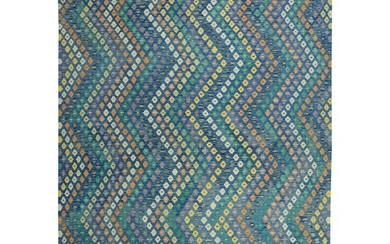 Hand Woven Colorful Afghan Kilim Pure Wool Oriental Rug