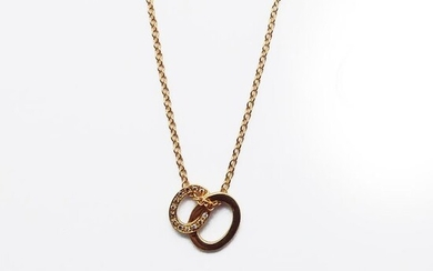 Pomellato - 18 kt. Pink gold - Necklace with pendant - 0.10 ct Diamonds