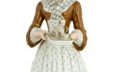 """Rare Meissen Hand Painted Porcelain """"The Chocolate"""