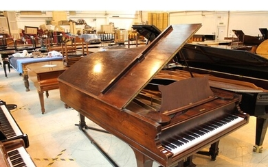 Steinway (c1865) An 8ft 5in 88-note New York Style 4 concert...