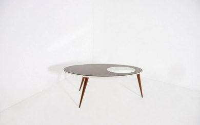 Vintage Italian Coffee Table inspired by Gio Ponti