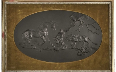 Wedgwood. The Frightened Horse, after George Stubbs, late 18th century