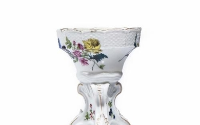A MEISSEN MARCOLINI PERIOD FOOTED BOWL