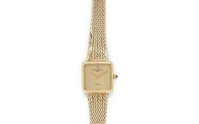 BAUME & MERCIER, 14K YELLOW GOLD WRISTWATCH