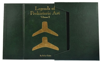 Book: Legends of Prehistoric Art I. Limited edition in