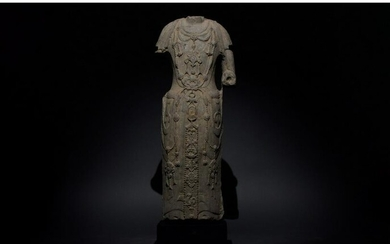 CHINESE NORTHER WEI DYNASTY STONE TORSO