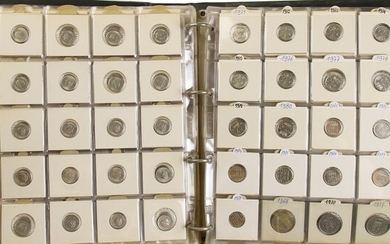 Collection Netherlands post-war coins incl. silver, also some medals for...