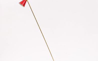 """FLOOR LAMP, of more recent manufacture, Luci Srl, Parma, Italy, """"Piantana Diabolo Red""""."""