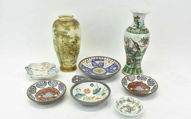 Group of Assorted Asian Porcelains