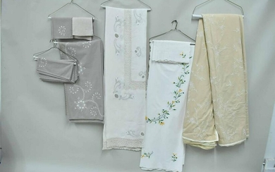 Group of Assorted Embroidered Linens