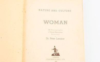 """LANDOW, Peter. """"Nature and culture woman""""."""