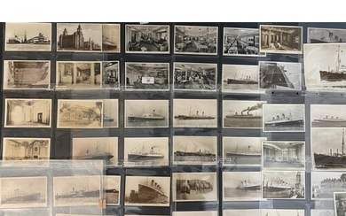 OCEAN LINER: A collection of approximately fifty original bl...