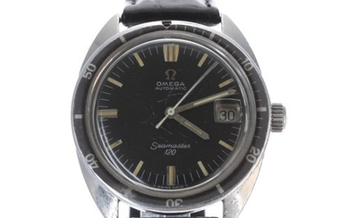Omega Seamaster 120 diver's automatic stainless steel gentle...