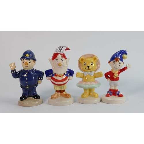 Royal Doulton Noddy and friends set of figures: comprising N...