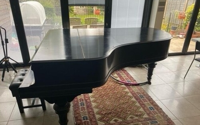 Steinway (c1903) A 7ft 5in Model C grand piano in an ebonise...