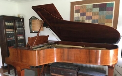Steinway (c1928) A 7ft 5in grand piano in a French polished...