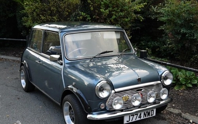 1991 ROVER MINI NEON Registration Number: J774 NWD Recorde...