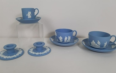 5 Pcs Wedgwood incl. Tea Cups and Candle Holders