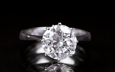 A Solitaire Diamond Ring.