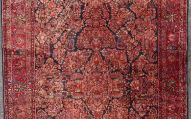 AN AMAZING ROOM SIZED PERSIAN SAROUK ROOM SIZE CARPET