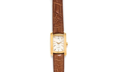 BAUME & MERCIER, 18K YELLOW GOLD REF. 65302 'HAMPTON' WRISTWATCH