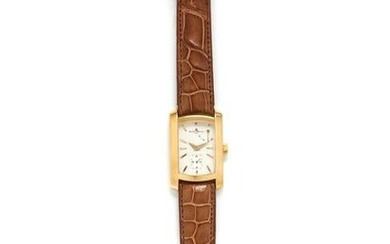 BAUME & MERCIER, 18K YELLOW GOLD REF. 65302 'HAMPTON'