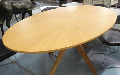 DINING TABLE, contemporary design, 190cm x 111cm x 75cm.