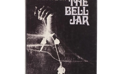 """Early American Printing """"The Bell Jar"""" by Sylvia Plath, 1971"""