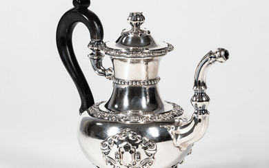 French Sterling Silver Teapot