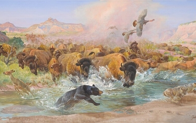 John F. Clymer, Clearing the Palo Duro