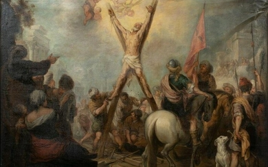 Martyrdom Of Saint Andrew Oil Painting